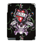 Ed Hardy Terrible Skull  Ipad 3 Skin Skin for Custom IPad 3