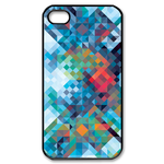 Aztec - Blue Custom Case for iPhone 4,4S