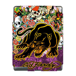 Ed Hardy Skull and Tiger Ipad 3 Skin Skin for Custom IPad 3