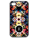 Rainbow Pattern - Letter Custom Case for iPhone 4,4S