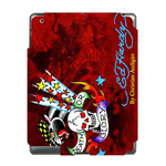 Red Ed Hardy Ipad 3 Skin Skin for Custom IPad 3