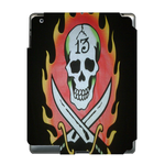 Skull Fire Ed Hardy Ipad 3 Skin Skin for Custom IPad 3