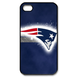 Blue New England Patriot iphone 4s case Custom Case for iPhone 4,4S