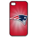 Love New England Patriot iphone 4s case Custom Case for iPhone 4,4S