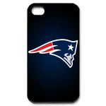 New England Patriot iphone 4s case Custom Case for iPhone 4,4S  