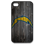 Particular San Diego Chargers iphone 4s case Custom Case for iPhone 4,4S
