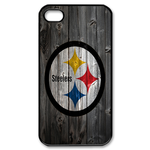 Pittsburgh Steelers iphone 4s case Custom Case for iPhone 4,4S