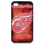 Detroit Red Wings iphone 4s case Custom Case for iPhone 4,4S