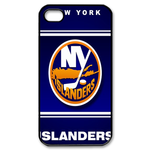 Famous New York Islanders iphone 4s case Custom Case for iPhone 4,4S  