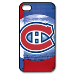 Montreal Canadiens iphone 4s case Custom Case for iPhone 4,4S