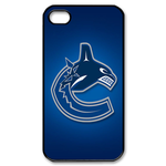 Vancouver Canucks iphone 4s case Custom Case for iPhone 4,4S  