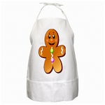 Cute cookie BBQ Apron Custom BBQ aprons