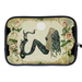 Vintage Mermaid Two Sides Sleeve for Kindle Fire