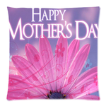 "Dear Mom I Love You Pillow Case Custom Zippered Pillow Case 18""x18""(two sides)"