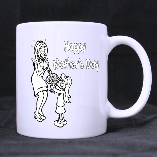 Moving Mom White Mug Custom White Mug