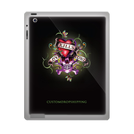 Custom Ed Hardy ipad 3 gel skins Custom Gel Skins for Ipad 3