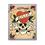 Ed Hardy Kills Love Slowly ipad 3 gel skins Custom Gel Skins for Ipad 3