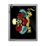 Ed Hardy Skull ipad 3 gel skins Custom Gel Skins for Ipad 3