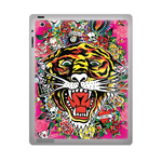 Ed Hardy Tiger ipad 3 gel skins Custom Gel Skins for Ipad 3