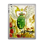 Unique Ed Hardy ipad 3 gel skins Custom Gel Skins for Ipad 3