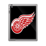 Black Detroit Red Wings ipad 3 gel skins Custom Gel Skins for Ipad 3