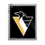 Black Pittsburgh Penguins ipad 3 gel skins Custom Gel Skins for Ipad 3