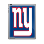 Blue New York Giants ipad 3 gel skins Custom Gel Skins for Ipad 3
