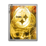 Fire Pittsburgh Steelers ipad 3 gel skins Custom Gel Skins for Ipad 3