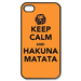 Keep Call And Hakuna Matata Custom Case for iPhone 4,4S
