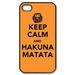 Keep Call And Hakuna Matata Custom Case for iPhone 4,4S