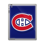 Blue Montreal Canadiens ipad 2 gel skins Custom Gel Skins for Ipad 2
