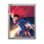 Superman on the way ipad 2 gel skins Custom Gel Skins for Ipad 2