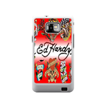 Classic Logo Ed Hardy Samsung Galaxy S II Case Case For Samsung Galaxy S2  I9100