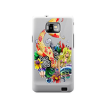 Cute Mermaid Ed Hardy Samsung Galaxy S II Case Case For Samsung Galaxy S2  I9100