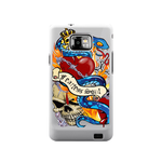 Fearless Soul Ed Hardy Samsung Galaxy S II Case Case For Samsung Galaxy S2  I9100