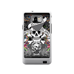 Love Dies Hard Ed Hardy Samsung Galaxy S II Case Case For Samsung Galaxy S2  I9100