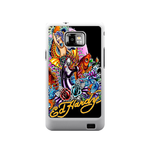 Mermaid Ed Hardy Samsung Galaxy S II Case Case For Samsung Galaxy S2  I9100
