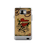 Skull and Heart Ed Hardy Samsung Galaxy S II Case Case For Samsung Galaxy S2  I9100
