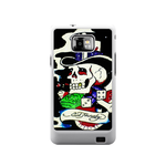 Skull Gambler Ed Hardy Samsung Galaxy S II Case Case For Samsung Galaxy S2  I9100
