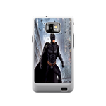 Batrman in City Samsung Galaxy S II Case Case For Samsung Galaxy S2  I9100