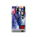 Batrman with Batwoman Samsung Galaxy S II Case Case For Samsung Galaxy S2  I9100