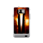 Batrman with Superman Samsung Galaxy S II Case Case For Samsung Galaxy S2  I9100
