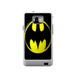 Black Logo Batrman Samsung Galaxy S II Case Case For Samsung Galaxy S2  I9100