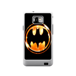 Orange Batrman Samsung Galaxy S II Case Case For Samsung Galaxy S2  I9100