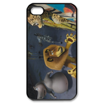 Madagascar 3 Custom iPhone 4,4S Case Custom Case for iPhone 4,4S  