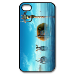 Madagascar 3 Diving Custom iPhone 4,4S Case Custom Case for iPhone 4,4S  