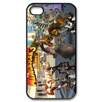 Madagascar 3 We Back Custom iPhone 4,4S Case Custom Case for iPhone 4,4S  