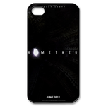Prometheus Name Custom iPhone 4,4S Case Custom Case for iPhone 4,4S  
