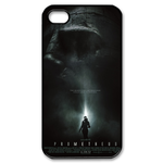 Prometheus Poster Custom iPhone 4,4S Case Custom Case for iPhone 4,4S  