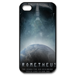 Prometheus & The Earth Custom iPhone 4,4S Case Custom Case for iPhone 4,4S
